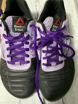 Reebok Women's 6.5 Crossfit CF74 Purple/Black Athletic Cross Training Shoe - $22.76