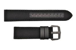 Genuine Luminox 6421 F-117 Nighthawk 23mm Black/ Cloth Leather Watch Ban... - $79.95