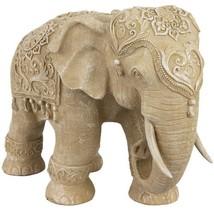 "Oriental Furniture 20"" Ivory Elephant Statue - $185.49"