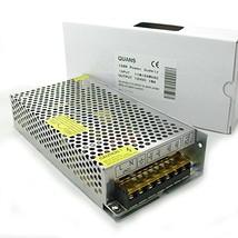 QUANS 110VAC to 12V DC 10A 120W Watt Universal Regulated Switching Power... - $21.02