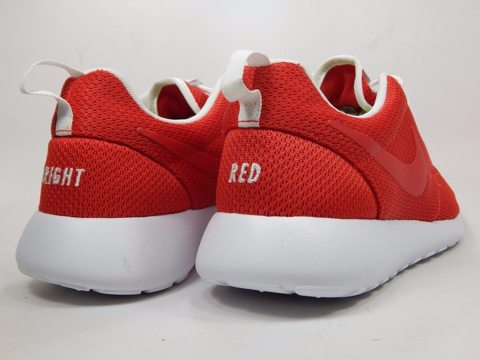 2cf2f9285076 Nike Rosherun iD Bright Red Men s Running Shoes Size 11 M (D) EU ...