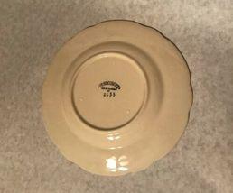 """4 Vintage Franciscan Desert Rose 7 5/8"""" Salad Plate Arch Mark California image 3"""