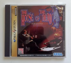 THE HOUSE OF THE DEAD Sega Saturn Video Game Japan Japanese  - $43.56