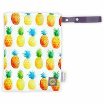 """Itzy Ritzy Reusable Snack Bag – 7"""" x 7"""" BPA-Free Snack Bag Painterly Pin... - $6.64"""