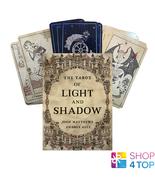 THE TAROT OF LIGHT AND SHADOW CARDS DECK WATKINS JOHN MATTHEWS ASTE ESOT... - $68.00
