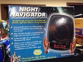 Electronic Excalibur Night Navigator Constellation, Star or Planet Finde... - $14.84