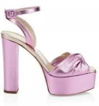$975 Giuseppe Zanotti Platforms Pink And Gold Metallic Stunning!  - €318,88 EUR
