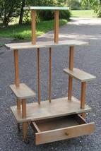 Mid century Scandinavian design vintage multi table modernist Bauhaus Co... - $600.00