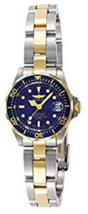 Invicta Women's Ladies Watch Pro Diver Quartz Stainless Steel Silver & Blue Tone - $79.99