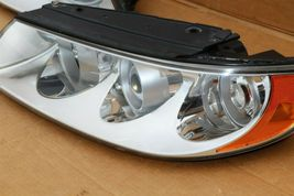 06-07 Hyundai Azera 7-Pin Headlight Head Light Lamps Set L&R - POLISHED image 3