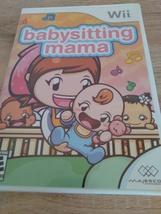 Nintendo Wii babysitting mama image 1