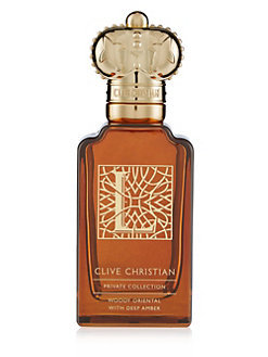 L WOODY ORIENTAL by CLIVE CHRISTIAN 5ml travel Spray NEW PRIVATE COLLECTION MAN