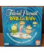 Trivial Pursuit DVD For Kids 2-6 Players Ages 8-12 Fun Trivia Sealed Bra... - $29.69