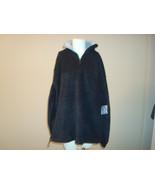 WinnersTech Medium M Black with Gray Fleece 1/4 Zip Polyester Pullover T... - $29.99