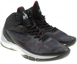 Risewear Halo 720 Mens Red Black High Top Basketball Shoes Size 7  - $16.82
