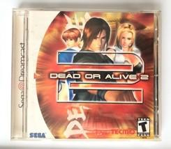 ☆ Dead or Alive 2 (Sega Dreamcast 2000) AUTHENTIC DOA2 Complete in Case ... - $24.99