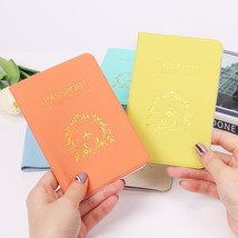 Sweet Lady Pink Cute Passport Cover Voyage Cash Money Card Id Holder Pas... - £3.87 GBP