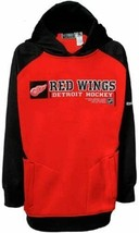 Detroit Red Wings Reebok Boy's Center Ice Performance Hooded Sweatshirt ... - $15.72