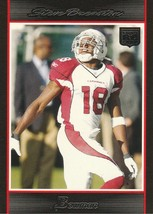 2007 Bowman #222 Steve Breaston RC  - $0.50