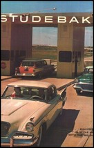 HUGE 1957 Studebaker Brochure- Silver Hawk - $17.17