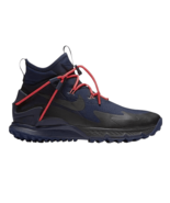 Nike Terra Sertig Boot Mens Hiking Black Dark Blue Obsidian 916830-400 - $99.95