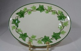 Vintage Franciscan Ivy Earthenware 13 Inch Oval Serving Platter Made in the USA - $33.99