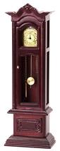 Dollhouse Miniature Working Grandfather Clock #T3316 - $57.71