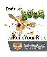 """EZ Shield Temporary Paint Protection from Bugs and Grime - 2""""x100' - $6.79"""