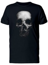 Gap In Mouth Scary Skull Men's Tee -Image by Shutterstock - $14.84+