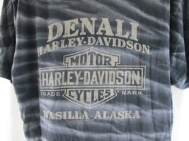 Harley Davidson Men's T-Shirt Denali Wasilla Alaska Logo Motorcycles Siz... - $17.81