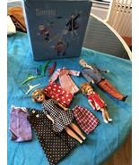 VINTAGE IDEAL 1960's Original TAMMY & Family Dolls Clothes, Extras & Cas... - $148.49