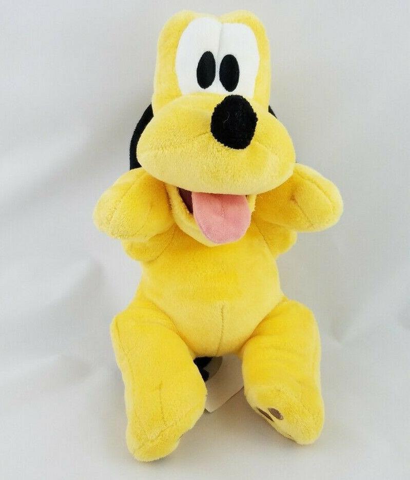 "Disney Babies Pluto Plush Disney Parks Original 11 "" Stuffed Toy"