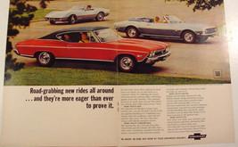 1968 Chevrolet Chevelle SS 396 ~ Corvette Sting Ray Convertible~ Camaro SS ad - $9.99