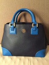TORY BURCH Robinson color-block mini square tote - $194.99