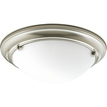 Progress Lighting P3561-09 Med Flush Mount, 2-60-watt - ₹12,525.09 INR