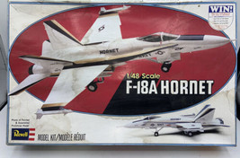 REVELL Navy F-18A Hornet No. 4500 1/48 Scale 1979 Model Airplane Kit  - $39.99