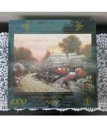 Ceaco Thomas Kinkade Olde Porterfield Tea Room 1000 Pc Puzzle - $15.83