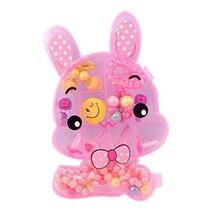 Children Hair Accessories Suit Hairpins and Hair Circle Children Gift, Rabbit image 2