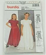 Burda Pattern 2621 2x Fixed/Communion Dress 122-152 EU Size 7-12 US - $14.74