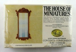 Vintage House Of Miniatures Chippendale Pier Glass #42404 New Sealed - $19.95