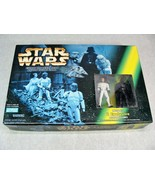 STAR WARS ESCAPE THE DEATH STAR ACTION FIGURE GAME LUKE/DARTH VADER EXCL... - $29.69