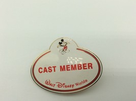 Disney WDW Name Tag Badge Cast Member Mickey Mouse Cast Exclusive - $24.99