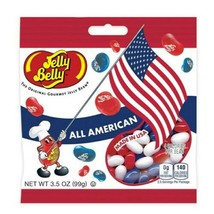 ALL AMERICAN MIX Jelly Belly  FRESH & TASTY  Candy - 3.5oz / bag image 1