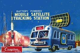 Mobile Satellite Tracking Station - Art Print - $19.99+