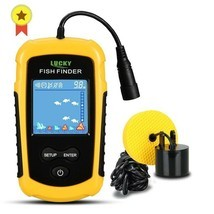 FFC1108-1 Alarm 100M Portable Sonar Fish Finders Fishing lure Echo Sound... - $58.31
