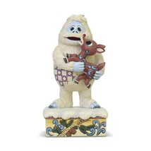 Rudolph Traditions Bumble Holding Rudolph Figurine by Jim Shore 6004144 - $39.55