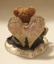 Boyd Bearstone Resin Bears Gwain Love Is The Masterkey Figurine #228317 1E image 2