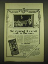 1924 Doubleday, Page & Co. Ad - She dreamed of a world made for Romance - $14.99