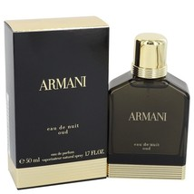 Giorgio Armani Eau De Nuit Oud 1.7 Oz Eau De Parfum Cologne Spray image 4