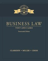 Business Law: Text and Cases - $194.95
